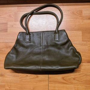Ann Taylor Pebble Leather Tote Bag